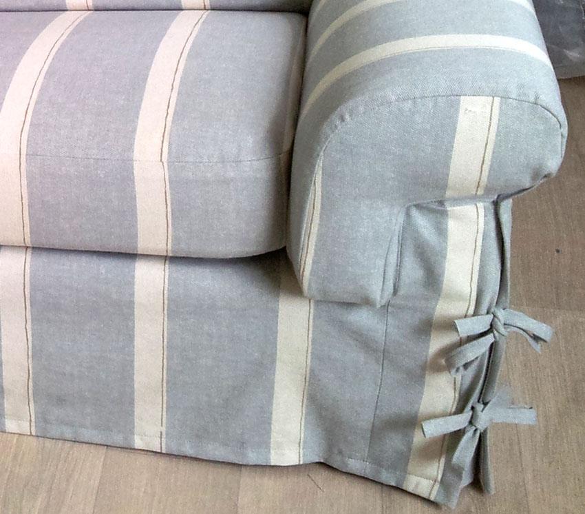 coudre une housse de canapé Couture d'ameublement sur mesure, housses canape, chaises, decor  coudre une housse de canapé